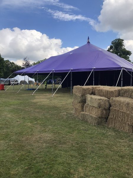 18m x 18m big top without walls
