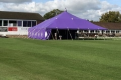 18m x 18m Big top hire
