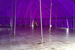 18m x 27m Big top with Rolatrac flooring