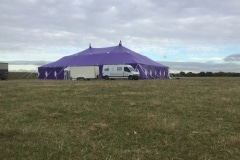18m x 27m Big top hire