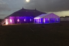 18m x 27m Big top at night
