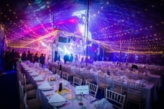 18m x 27m Big top hire Bachelors ball