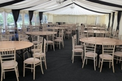 9m frame marquee with overlays