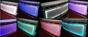 Curved LED bar