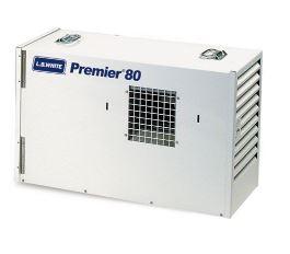 Medium gas heater