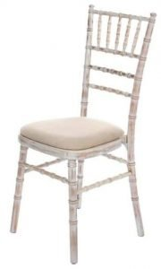 Chiavari chair with Ivory