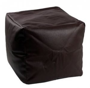 black seating cube