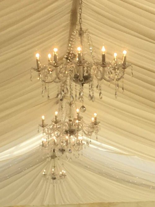 Crystal chandelier 8 arm