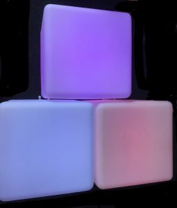 Party Light cube table/ seat
