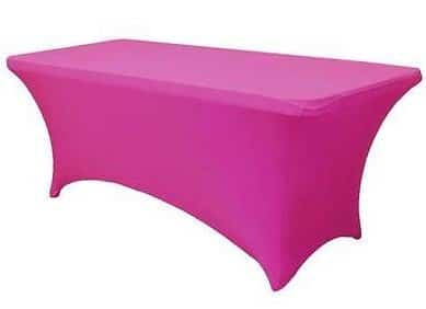 Tables \u2013 6ft trestle table cover black/pink/ blue  sc 1 st  MHC Events & Tables - 6ft trestle table cover black/pink/ blue - MHC Events