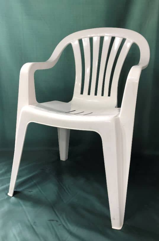 White Plastic Patio Chair Hire Garden Furniture Hire Chair Hire