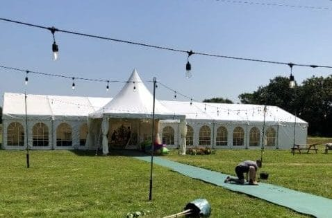 Marquee, big top & event equipment hire in Essex, Herts