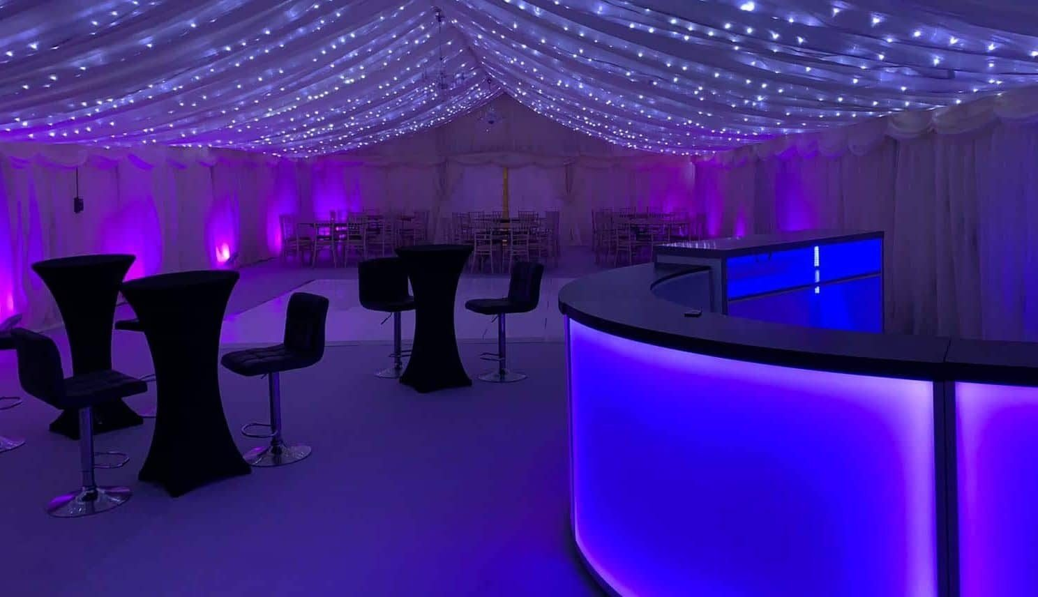 Marquee party package