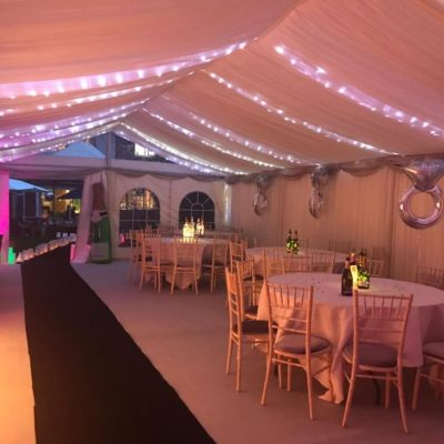 6m x 12m marquee hire